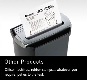 Oter products your one stop office supplier offers